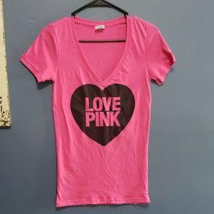 PINK VS Heart Top